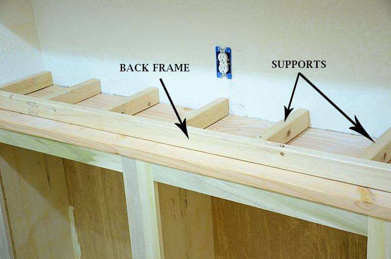supports and frames for chunky shelves