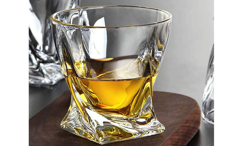 Crystal Whiskey Glasses under $20