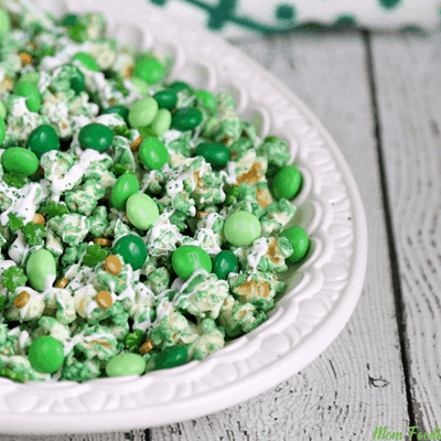 Leprechaun Popcorn Recipe for St. Patrick's Day