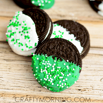 Oreo Treats Recipe for St. Patrick's Day