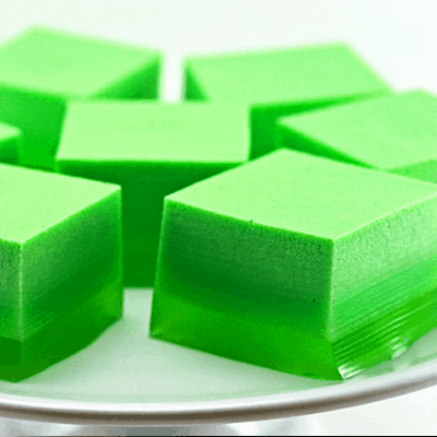 Green Ice Cream Jello Recipe for St. Patrick's Day